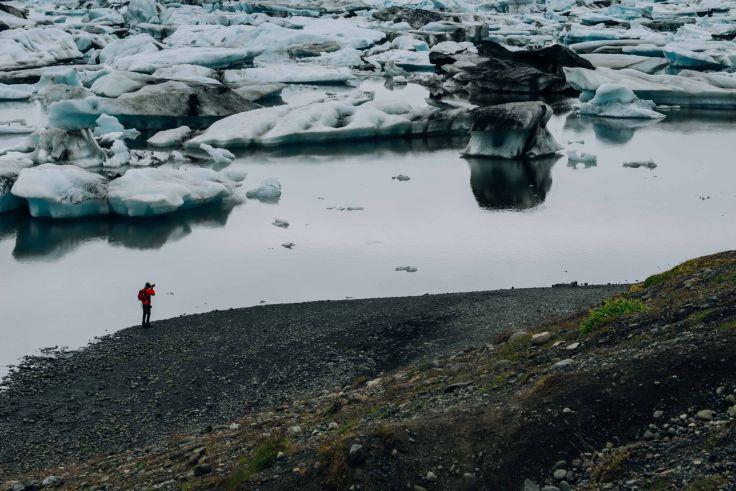 Glacier de Vatnajokull - Islande