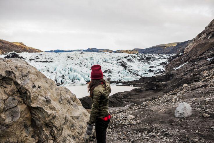 Glacier Myrdalsjökull - Islande