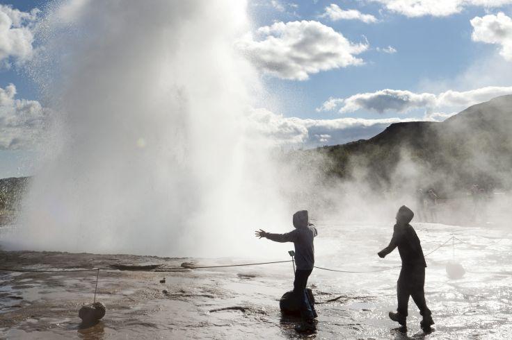 Geyser de Strokkur - Islande