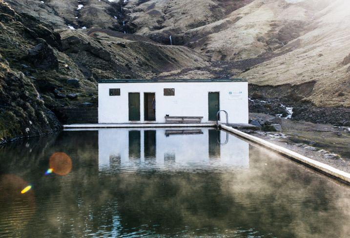 Seljavallalaug - Skogar - Suðurland - Islande