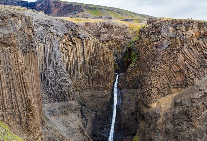 Cascade Hengifoss - Islande