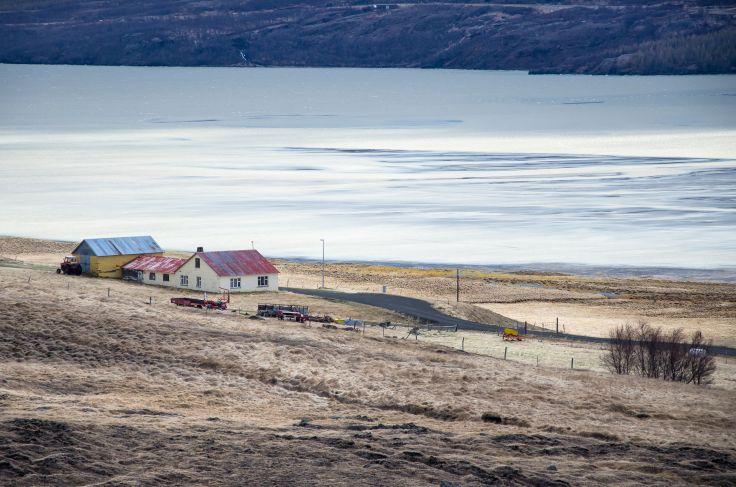 Près d'Hengifoss - Islande