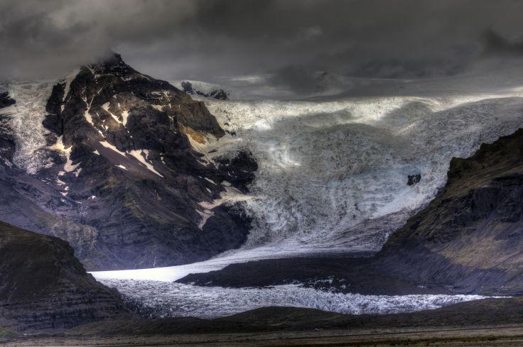 Glacier de Svínafell - Svínafellsjökull - Islande