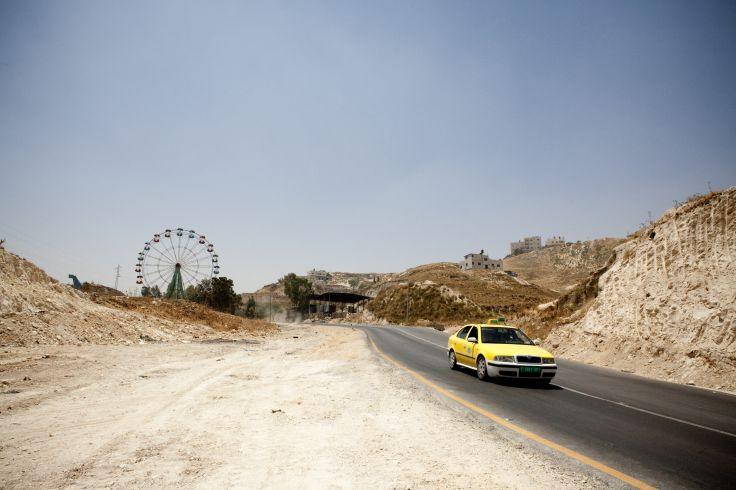 Entre Ramallah et Jénine - Palestine
