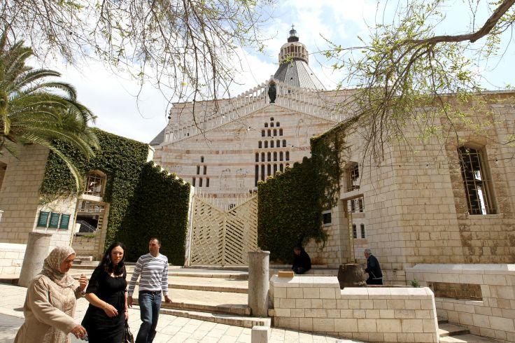 Basilique de l'Annonciation - Nazareth - Galilée - Israël