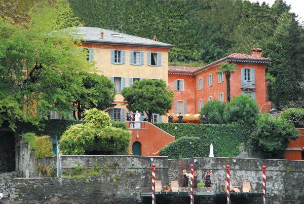 Séjour en Italie : Lac de Côme - Une villa au bord du lac