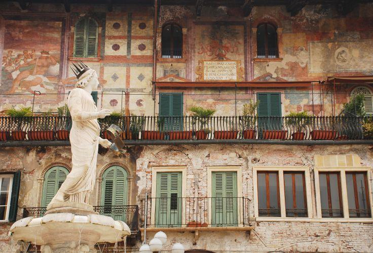 Madonna Verona et Casa Mazzanti - Vérone - Italie