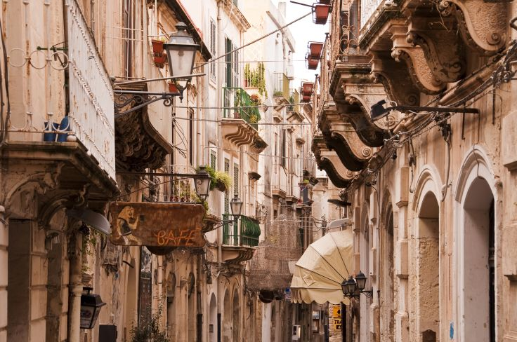 Deux belles siciliennes - Syracuse et Taormine