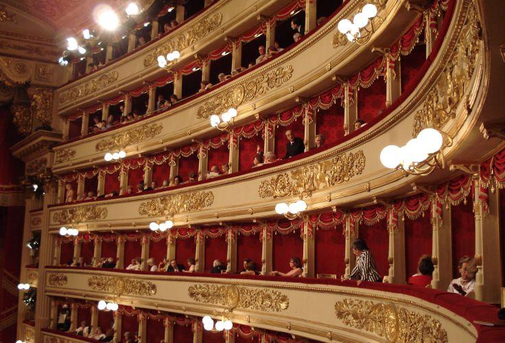 Scala de Milan - Lombardie - Italie