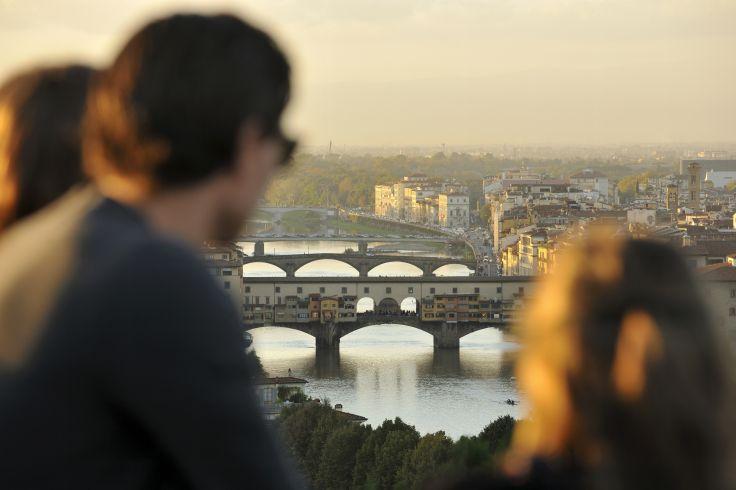 De Florence à Rome - Voyage en train et en famille