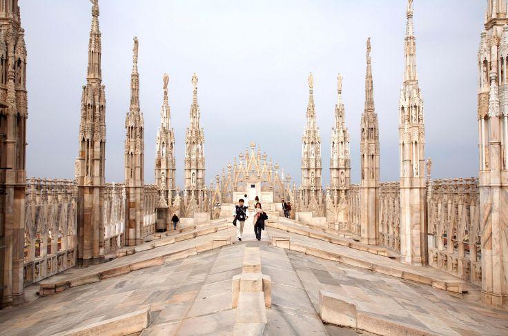 Eglise Santa Maria Nascente - Milan - Lombardie - Italie