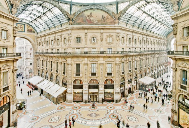 Galleria Vittorio Emanuele II - Milan - Lombardie - Italie