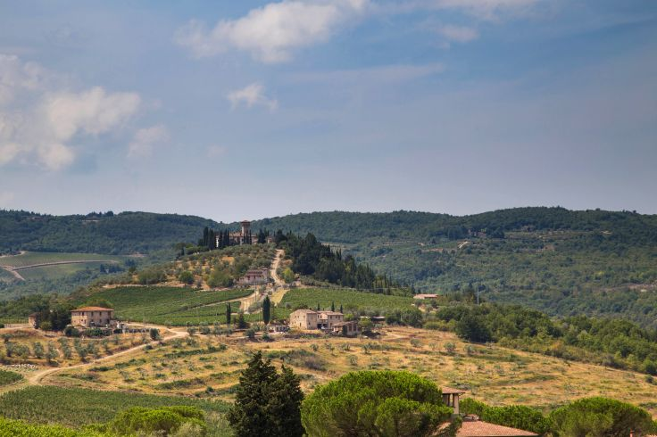 Castellina in Chianti - Italie
