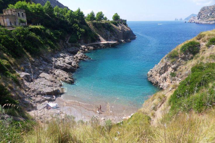 Baie de Ieranto - Campanie - Italie