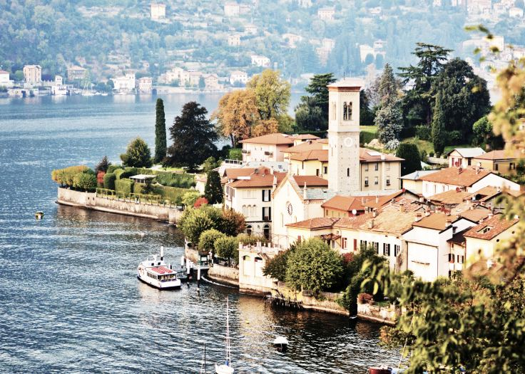 Lac de Côme - Torno - Italie