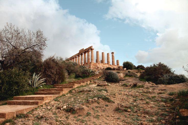 Temple d'Héra - Agrigente - Sicile - Italie