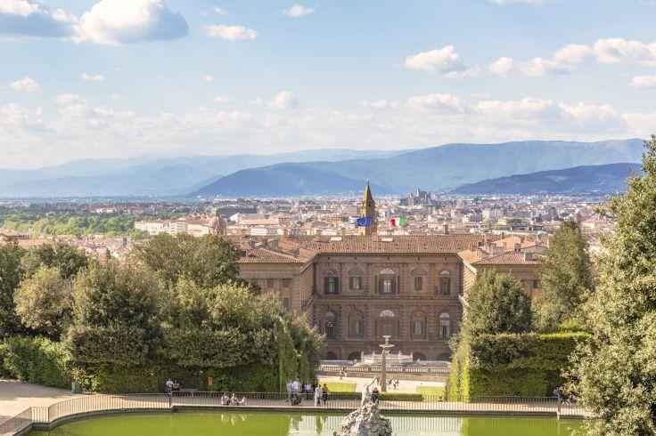 Palais Pitti - Florence - Toscane - Italie
