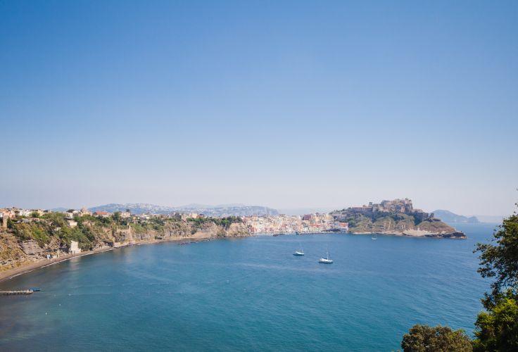 Ile de Procida - baie de Naples - Italie