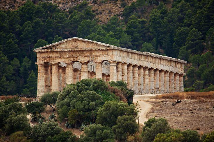 Temple de Ségeste - Sicile - Italie