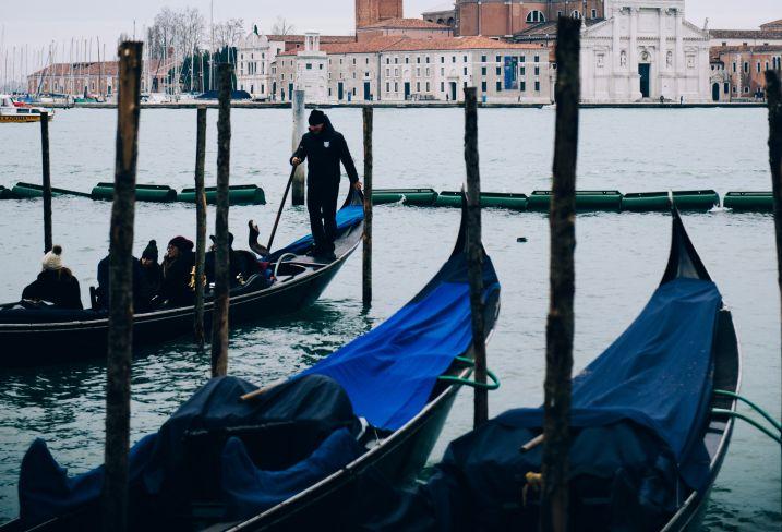 Vue sur le Stanze del Vetro - Venise - Vénétie - Italie