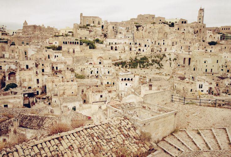 Sassi et parc des églises rupestres de Matera - Italie