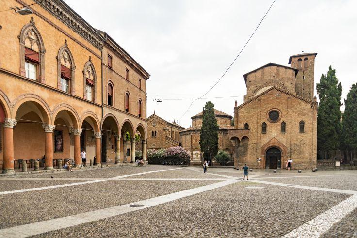 Place Santo Stefano - Bologne - Italie