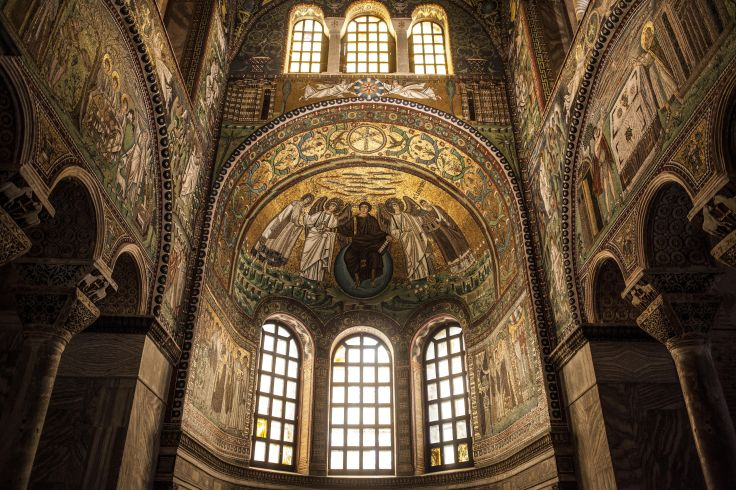 Basilique Saint-Vital - Ravenne - Italie