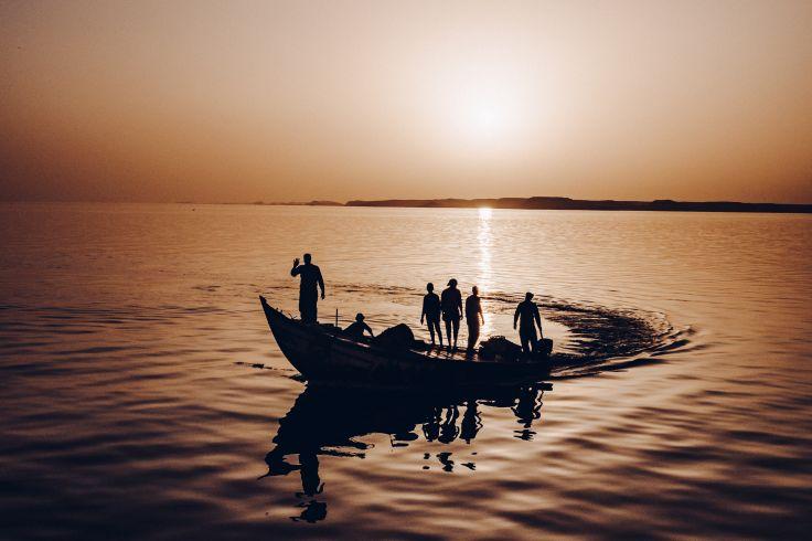 Lac Nasser - Egypte