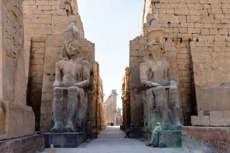 Louxor Temple - Egypte