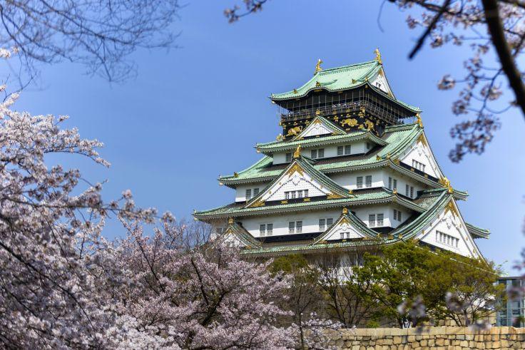 Château d'Osaka - Japon