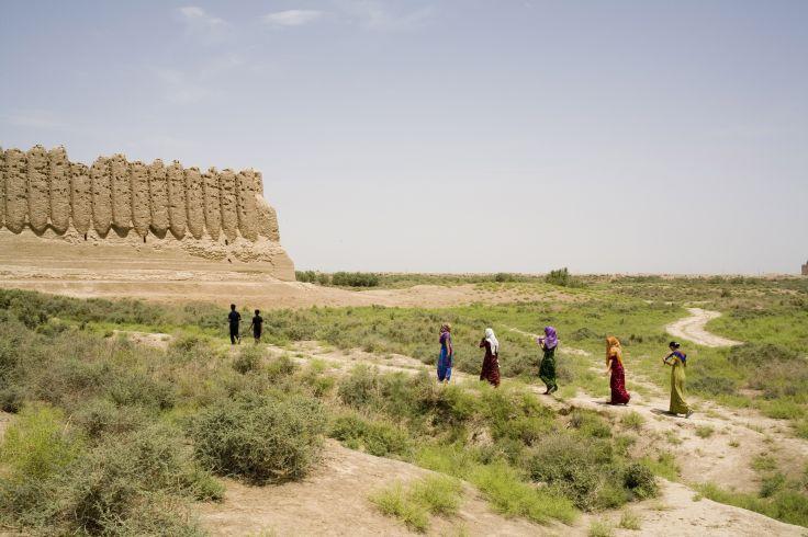 Site archéologique de Kyz Kala - Turkménistan