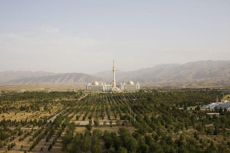Parc de l'indépendance - Ashkhabad - Turkménistan
