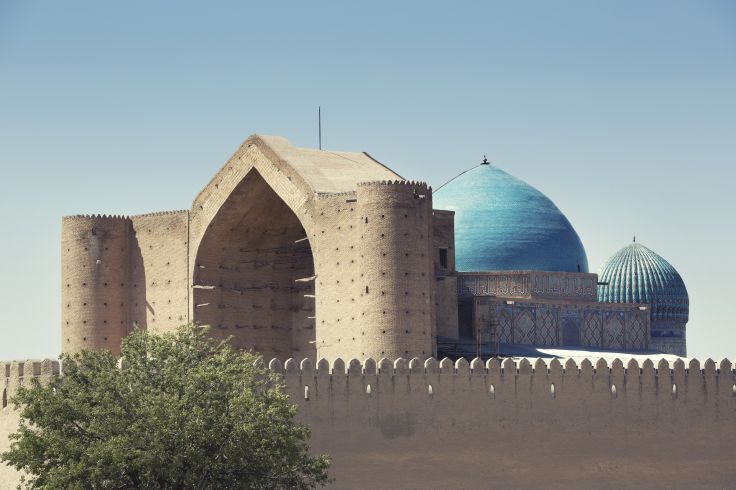 Mausolée de Khoja Ahmed Yasavi - Turkestan - Kazakhstan