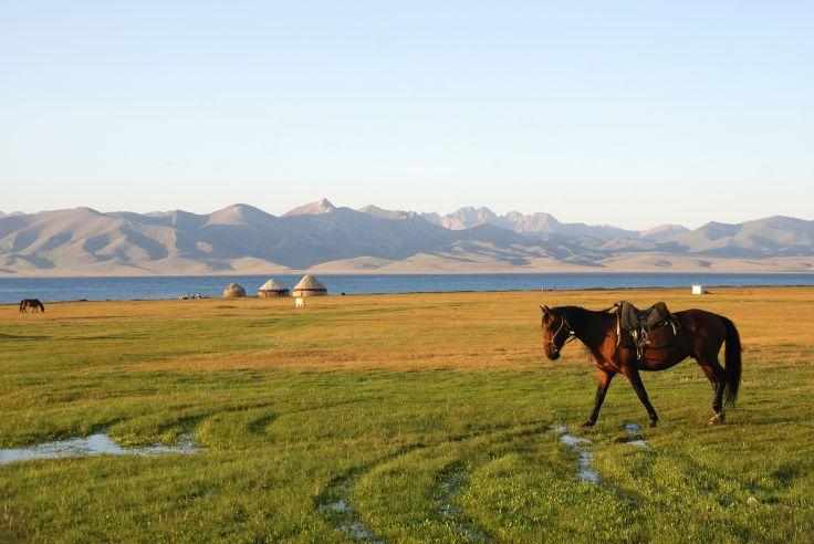 Lac Song Kul - Kirghizie