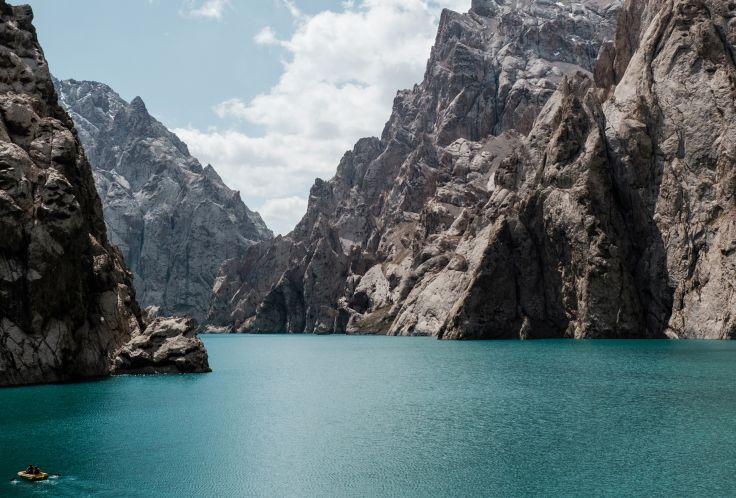 Lac de Kol Suu - Province de Naryn - Kirghizistan