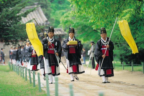 Cérmonie Jongmyojerye - Corée du Sud