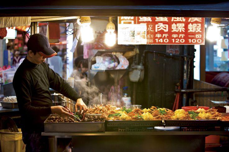 Marché de keelung - Taipei - Taïwan