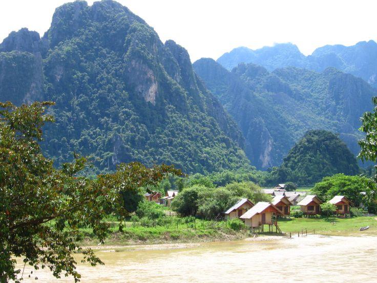 Mekong - Vang Vieng - Laos
