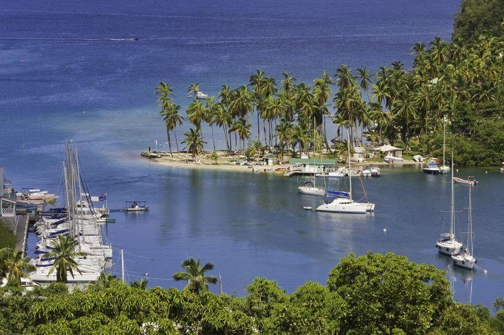 Baie de Marigot - Sainte Lucie