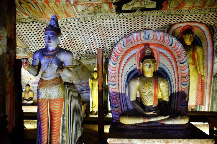 Grottes de Dambulla - Province du Centre - Sri Lanka