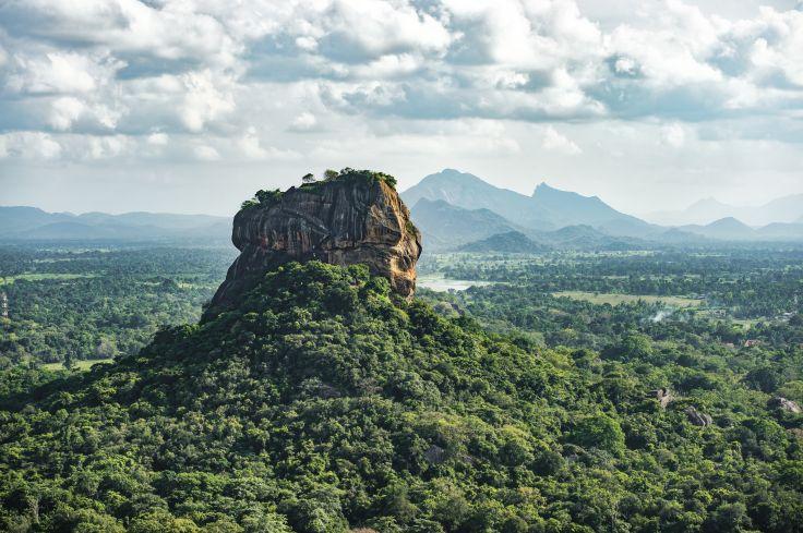 Rocher du Lion - Province du centre-nord - Sri Lanka