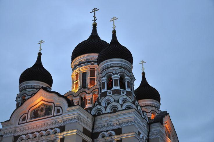 Alexander Nevsky Cathedral - Tallinn - Estonie