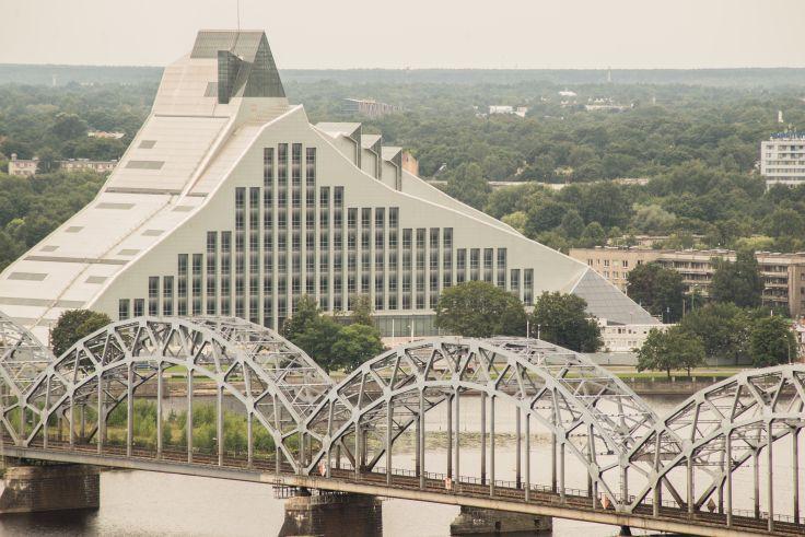 Bibliothèque nationale de Lettonie - Riga - Lettonie