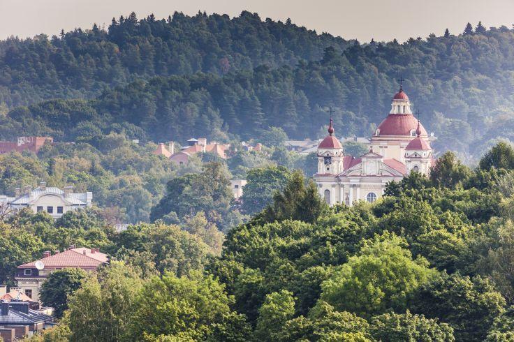 Église Saint-Pierre-et-Saint-Paul de Vilnius - Lituanie