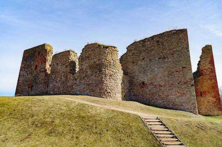 Ruines du Chateau de Bauska - Lettonie