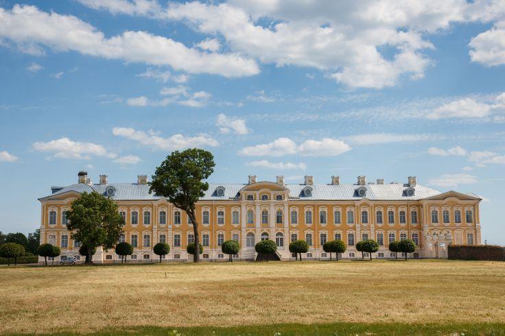 Château de Rundale - Riga - Lettonie