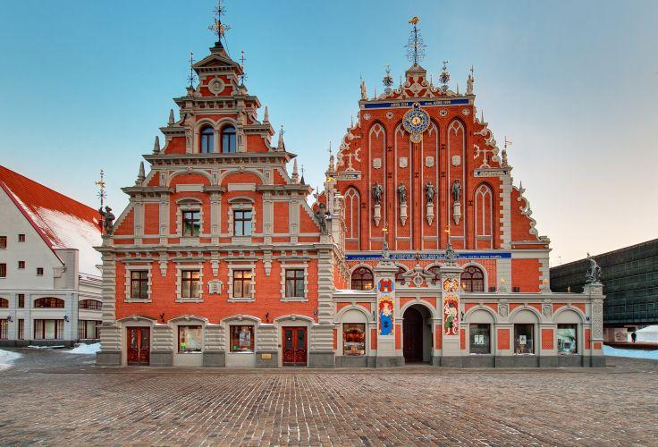 Maison des Têtes Noires - Riga - Lettonie