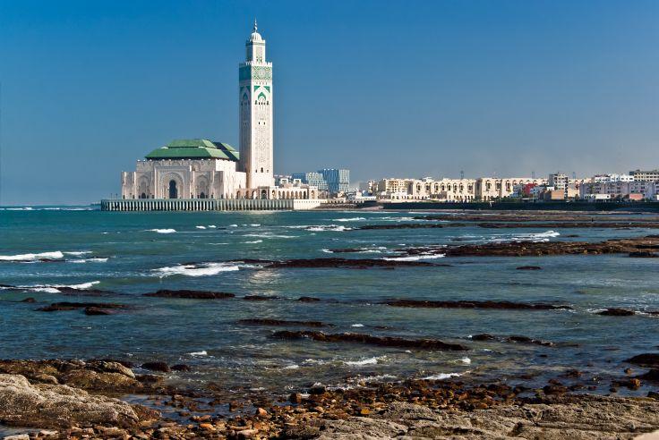 Mosquée Hassan II - Casablanca - Maroc