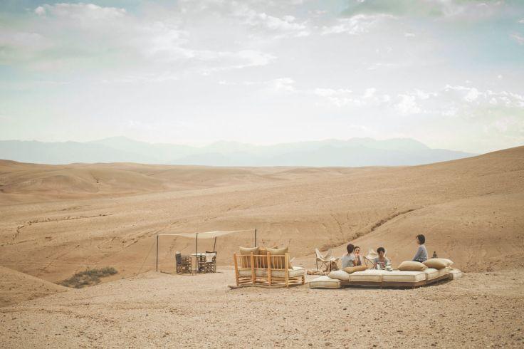 Entre dunes et étoiles - Retraite yoga dans le désert marocain