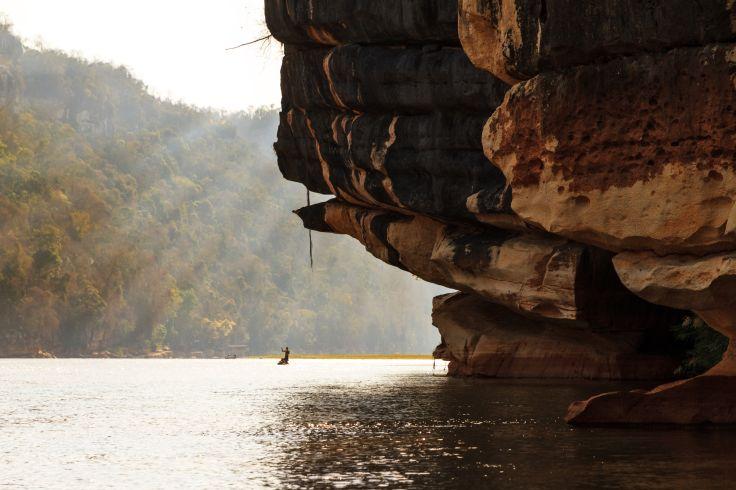 La rivière Manambolo - Madagascar